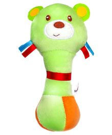 1st Step Lion Face Rattle Toy - Green