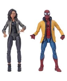 Marvel Spiderman Home Coming Toys 2 Action Figure - Girl Height 14.5 cm Boy Height 15 cm