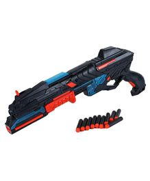 Webby High Speed Long Shooting Range Battery Operated Toy Gun - Blue & Red