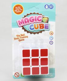 Rubiks Cube Toy - Red