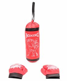 Kids Boxing Set - Red Black