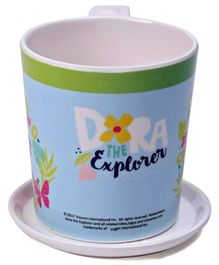 Servewell Dora Print Mug And Luna Coaster Set - Light Blue