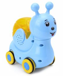 Friction Snail Shape Toy - Sky Blue