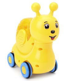 Friction Snail Shape Toy - Yellow