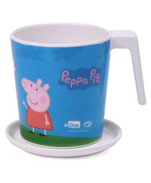 Servewell Peppa Pig Mug and Luna Coaster - Blue