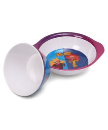 Motu Patlu Print Servewell Ear Bowl and Cone Bowl - Blue