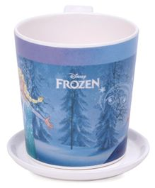 Servewell Disney Frozen Print Mug and Luna Coaster - Blue