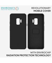 Envirochip Silicon Back Cover With Radiation Protection Technology For Samsung S9 - Black