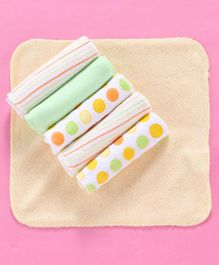Owen Knited Wash Cloth Multi Print Pack of 6 - Multicolor
