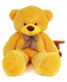 Frantic Teddy Bear Soft Toy Yellow - Height 180 cm