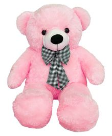 Frantic Teddy Bear Soft Toy Pink - Height 90 cm