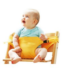 Magic Seat - Baby Portable Safety Seat Belt for Feeding Baby - Yellow