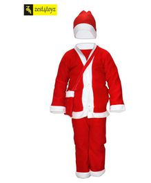 Zest 4 Toyz Christmas Santa Claus Dress Costume - Red