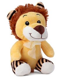 Dimpy Stuff Lion Soft Toy Light Yellow - Height 20 cm