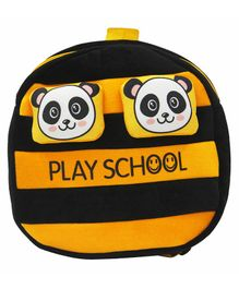 Hello Toys Panda Play School Soft Toy Bag Yellow - 15 Inches