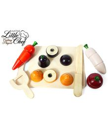 Aatike Little Chef Cutting Play Set - 8 Pieces