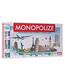 Ajanta International Monopoly Game - Multicolor