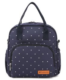 Teeworld Mini Diaper Backpack Polka Dot - Blue