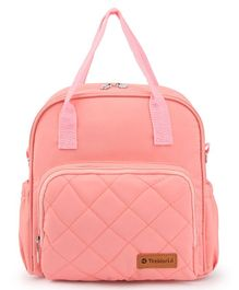 Teeworld Mini Diaper Backpack - Peach