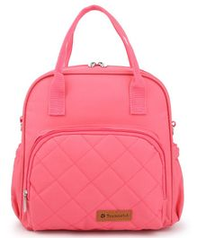 Teeworld Mini Diaper Backpack - Rose Pink