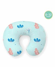 Rabitat Breezy Feeding Pillow Greenwell Print - Multicolor