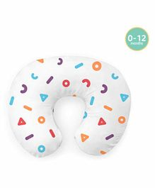 Rabitat Breezy Feeding Pillow Memphis Print - Multicolor