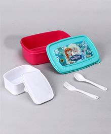 Disney Frozen Lunch Box Set - Blue Pink