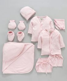 Ohms Infant Clothing Gift Set Pack of 9 - Pink