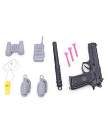 Ratnas Surgical Strike Gun and Dart Set - Black