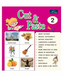 Picture Book Cut & Paste 2 - English