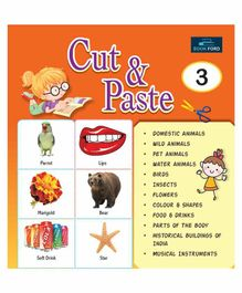 Picture Book Cut & Paste 3 - English