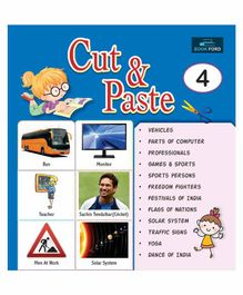 Picture Book Cut & Paste 4 - English