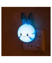 Skylofts Rabbit LED Night Lamp Plug - Blue