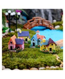 Skylofts House Miniatures Garden Décor Gifts for Home - Pack of 4