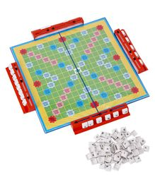 Ajanta Crossword Board Game - Green