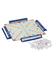 Ajanta Mini Crossword Board Game - Blue