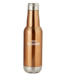 Milton Pride 600 Thermosteel Vaccum Insulated Hot & Cold Water Bottle Brown - 500 ml