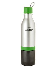 Milton Chai Pani Thermosteel Vaccum Insulated Hot & Cold Water Bottle Green - 800 Ml