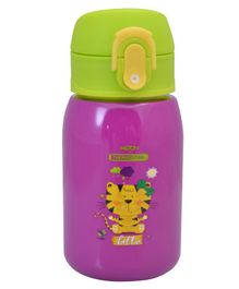 Milton Jolly375 Thermosteel Water Sipper Bottle Purple - 300 ml