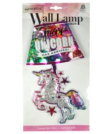 Scoobies Unicorn Led Wall Lamp - Multicolour