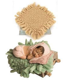 Babymoon Merino Wool Blanket New Born Photography Photoshoot Props Costume - Brown