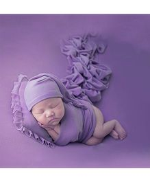 Babymoon Baby Pillow New Born Photography Photoshoot Props Costume - Purple