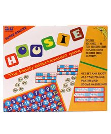 Ajanta Housie Board Game - Yellow