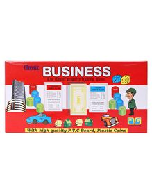Classic Business Board Game - Red
