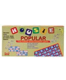 Ajanta Housie Popular Board Game - Multicolour