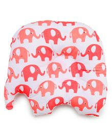 Meukebaby Newborn Pillow Elephant Print - Red