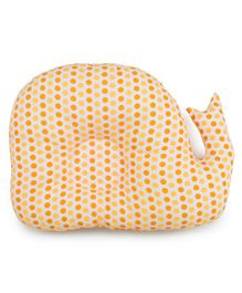 Meukebaby Newborn Pillow Dolphin Print - Orange