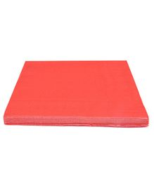 Party Anthem 2 Ply Paper Napkins Red - 40 Sheets