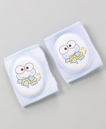 Adjustable Anti-Slip Baby Knee Pad Pack Of 2 - Blue
