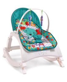 Babyhug Monarch 3 In 1 Baby Rocker - Green